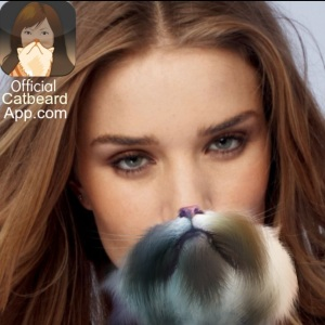 Rosie Huntingdon Whiteley Catbeard